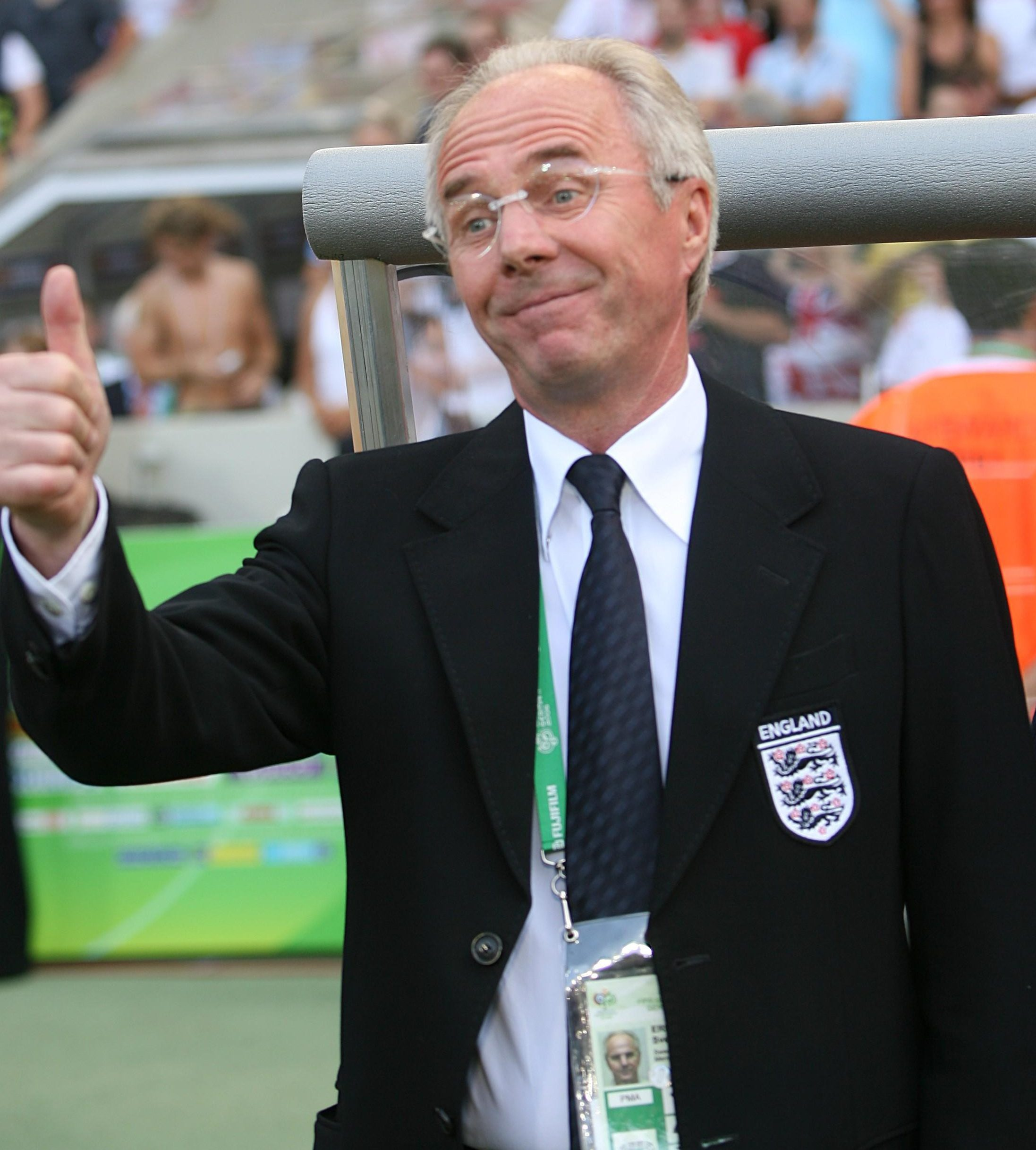 If Sven was capable of having nightmares they would feature Gerrard and Lampard tripping over each other