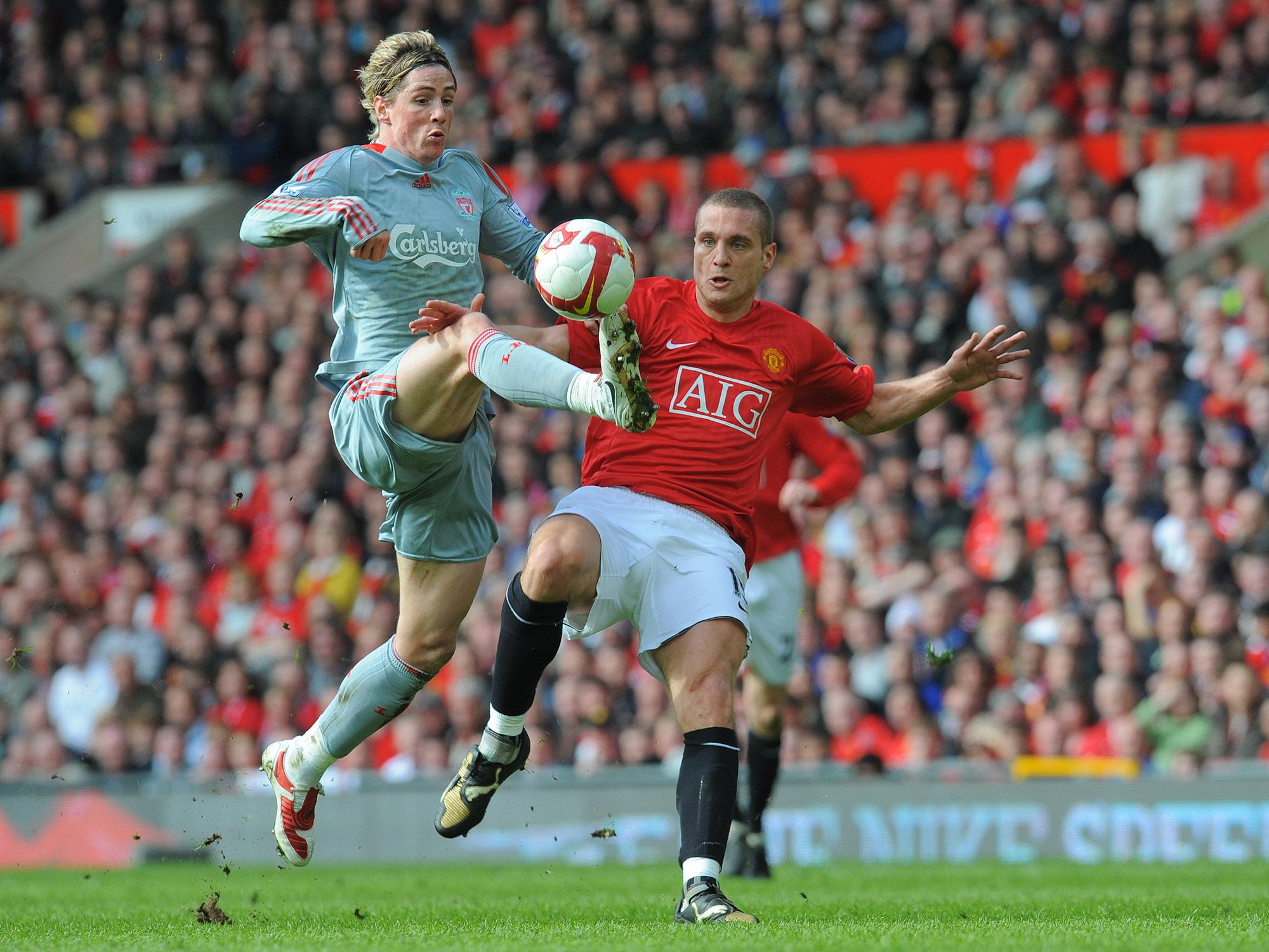 Vidic seemingly hated playing against Torres