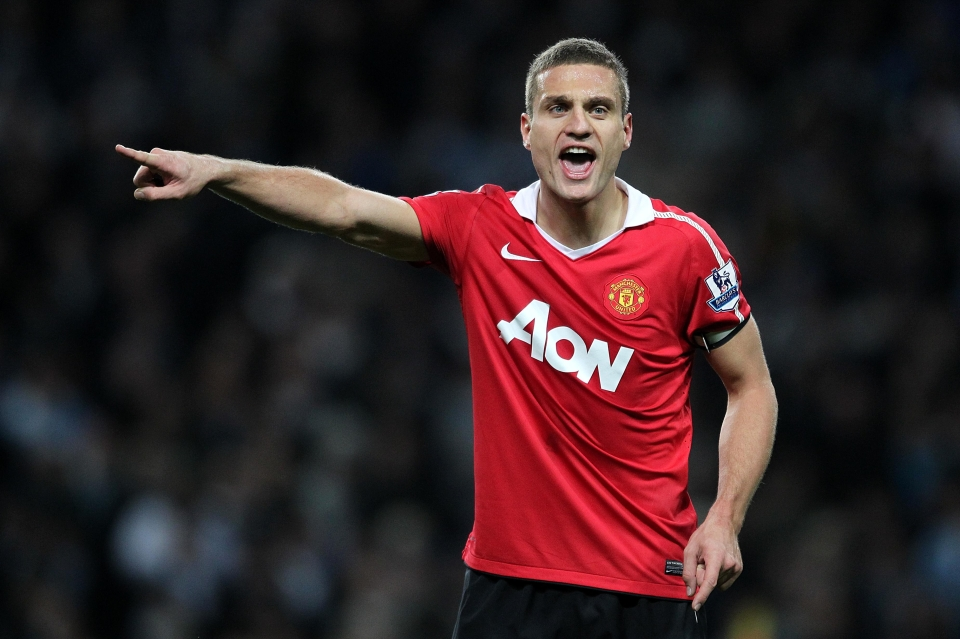 By this stage, Vidic was captain of United