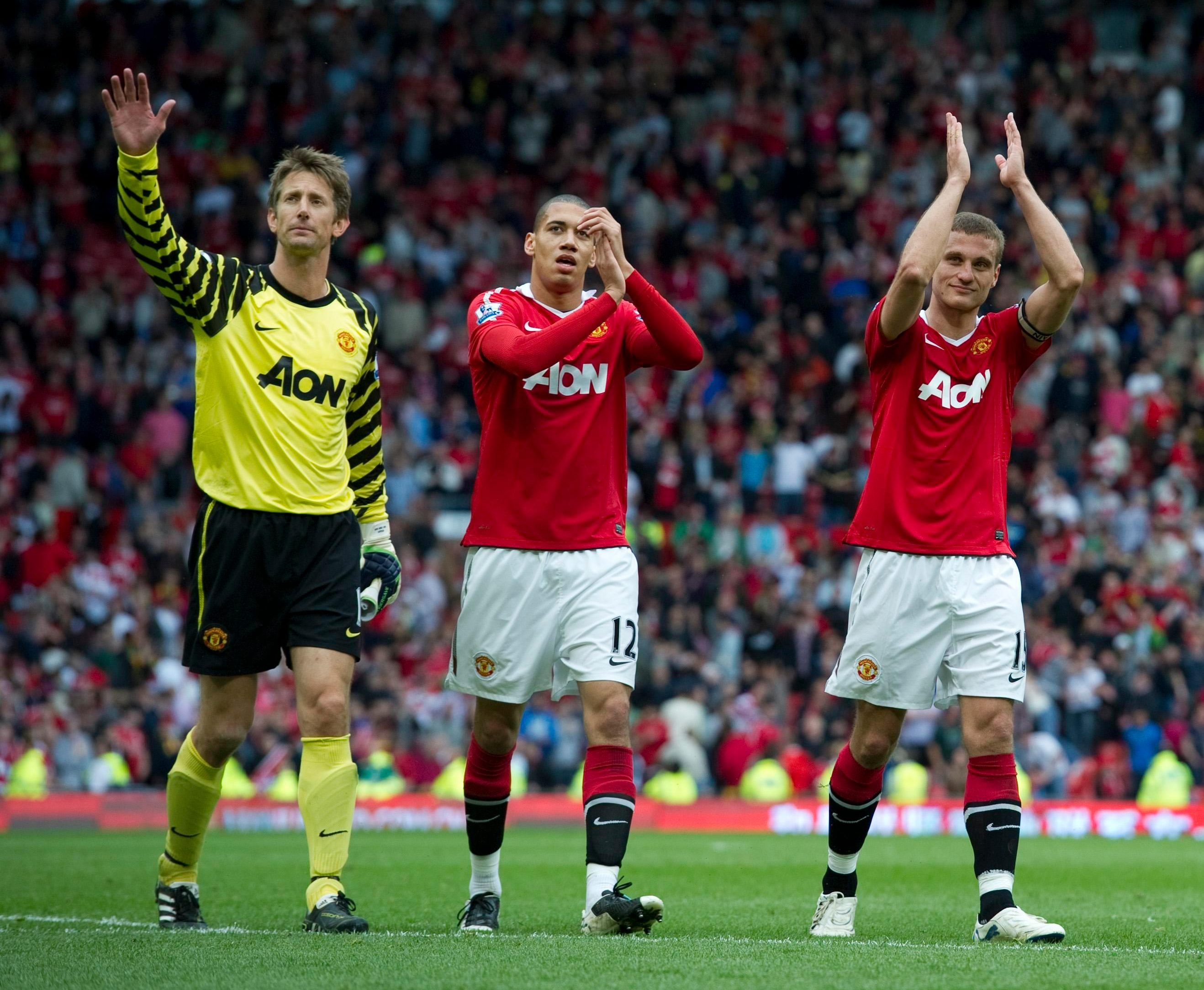 The pair didn't get the opportunity to play alongside Vidic and Ferdiand as much as they would've liked