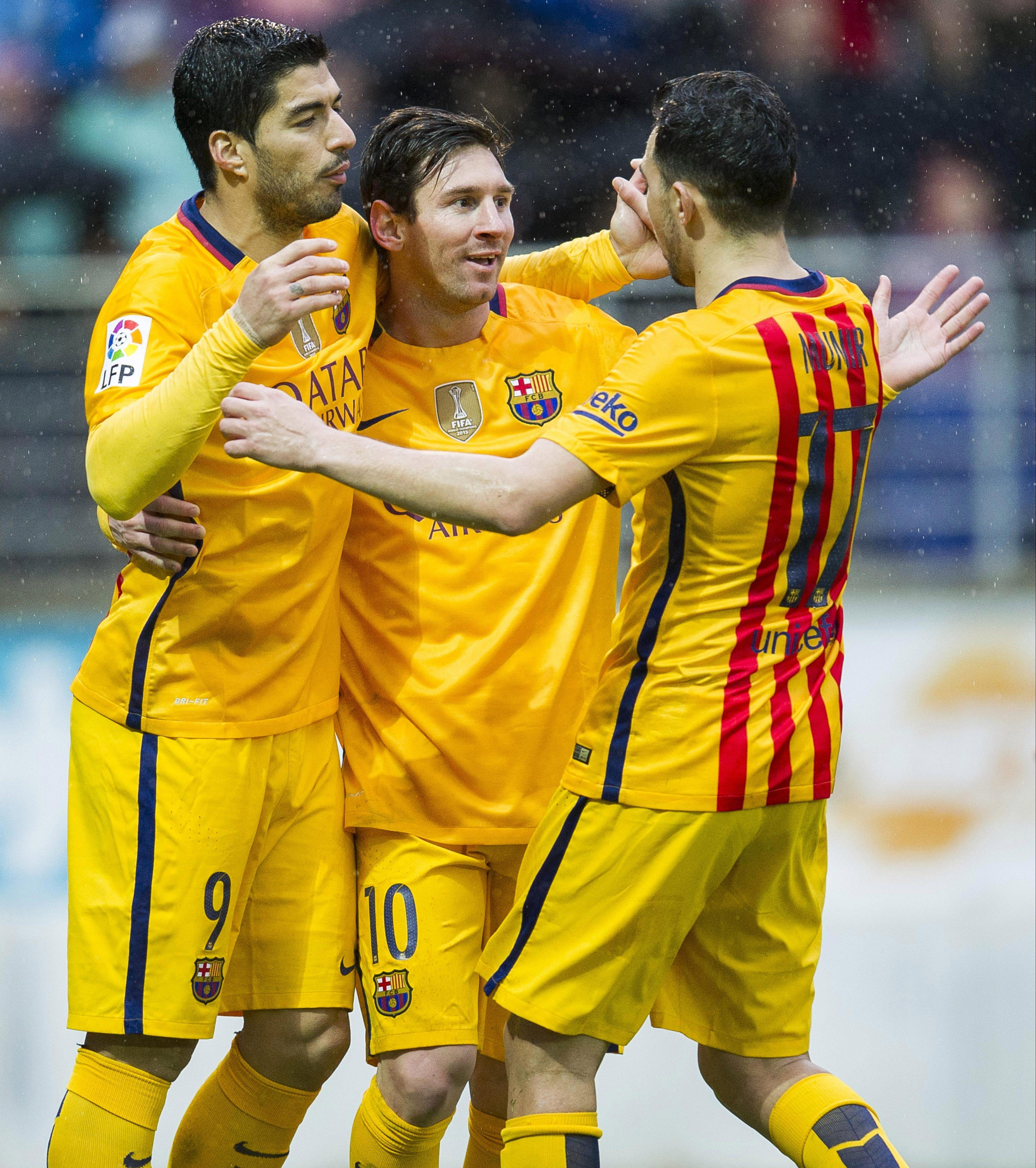 Suarez, Messi, Munir?