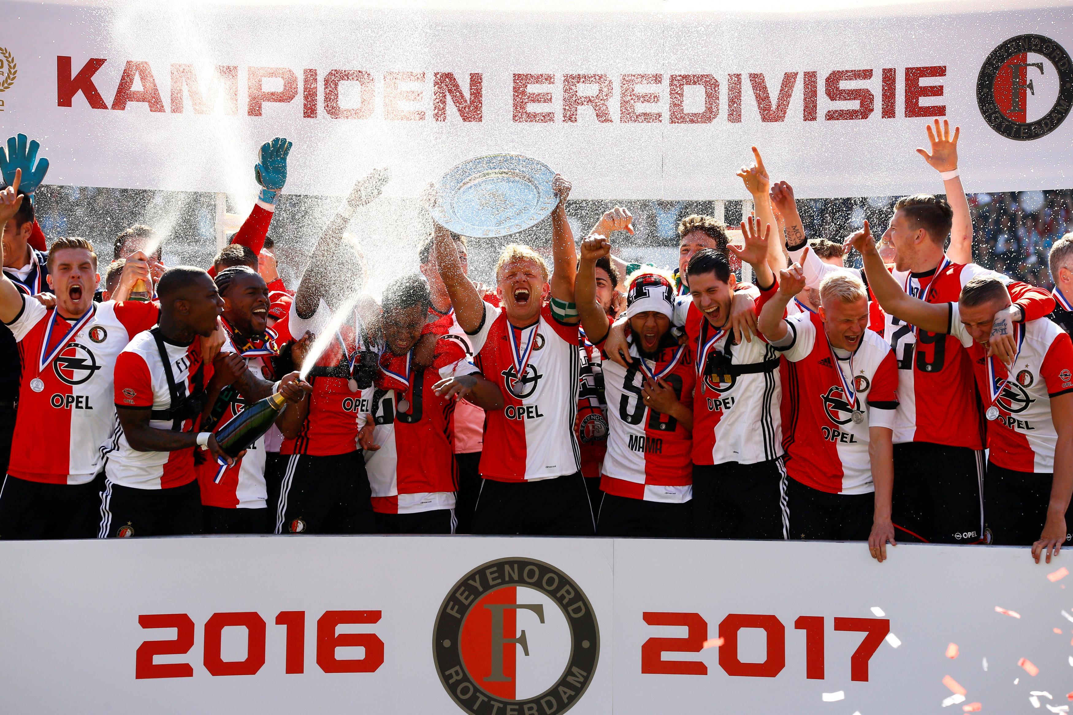 Kuyt secured Feyenoord their first league title in 18 years last season