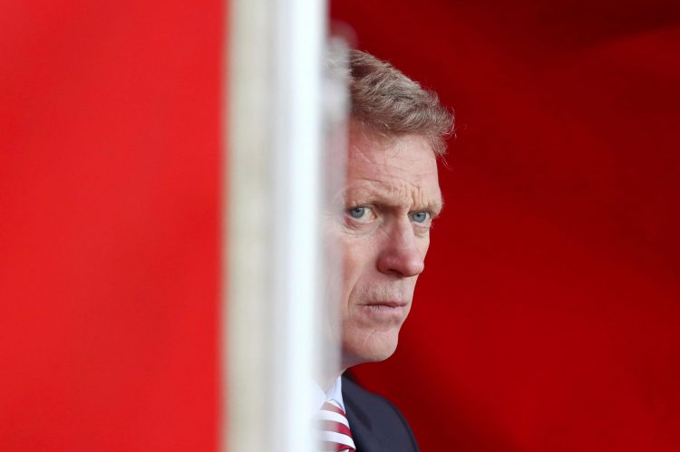 Moyes trying to hide from a second relegation in two seasons