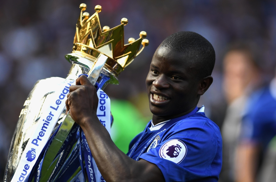 We still think Kante should have won at least one of the awards the season Leicester lifted the trophy