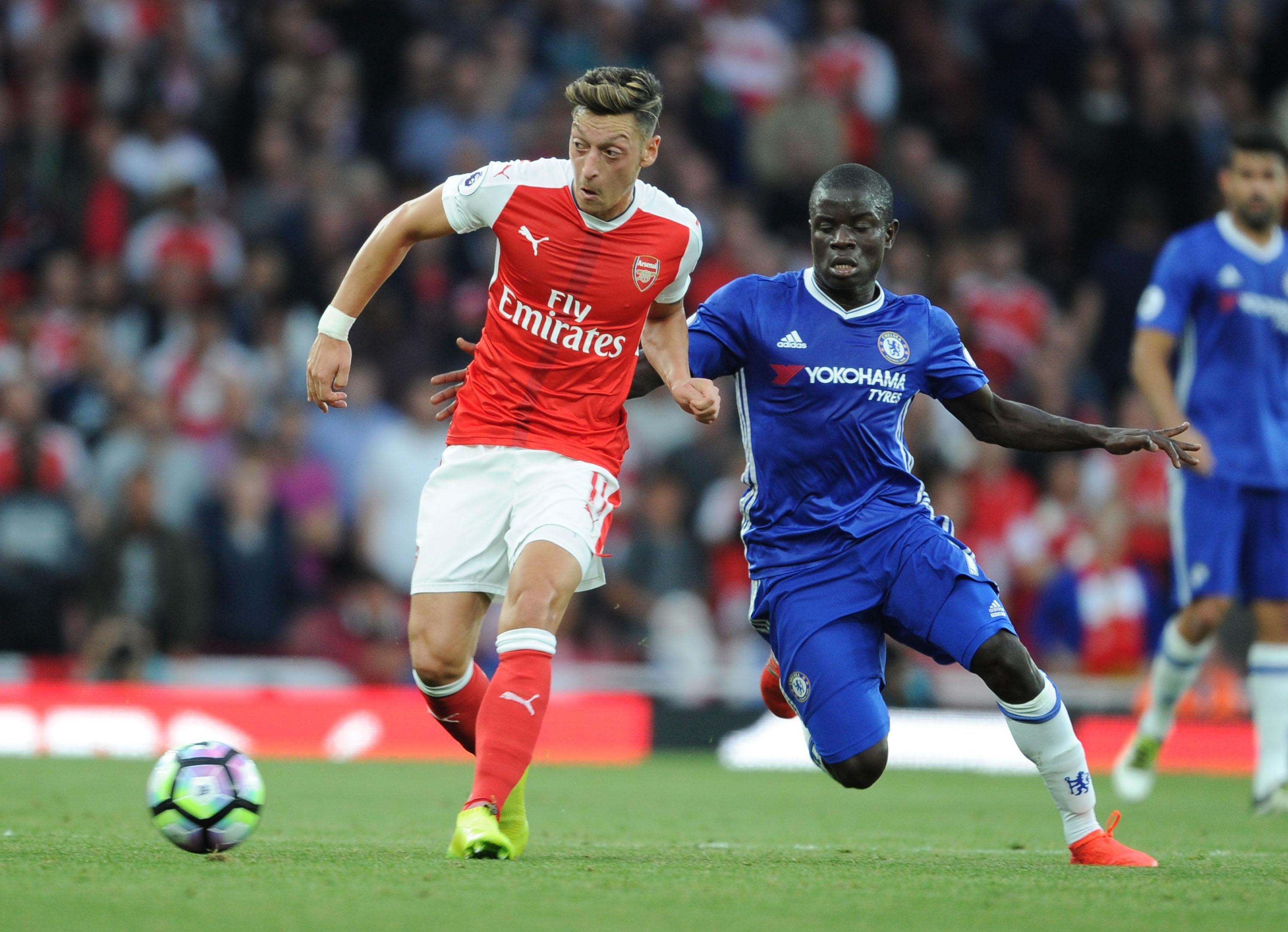 The next Claude Makelele battles it out with N'Golo Kante