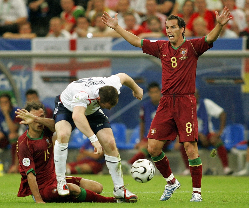 Rooney turning Ricardo Carvalho's testicles into sandwich spread is an underrated World Cup moment