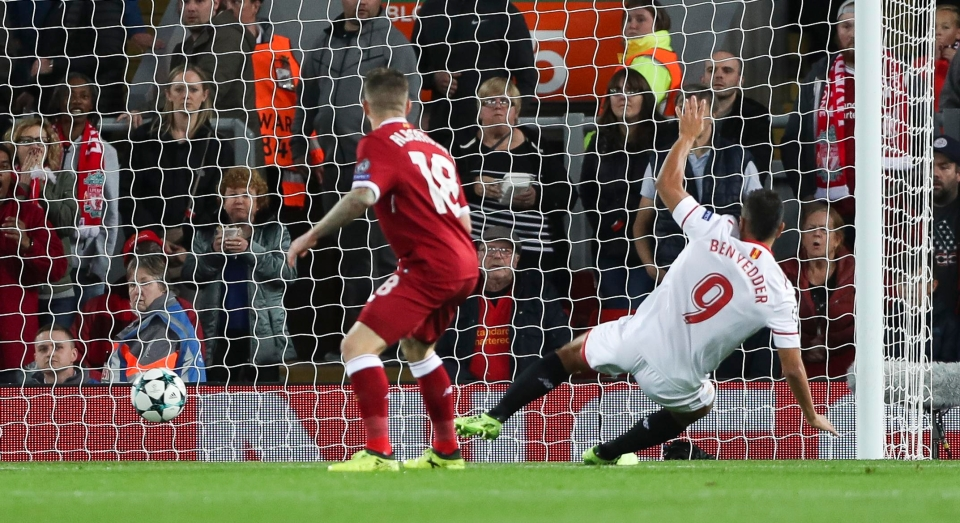 Ben Yedder scored home and away against Liverpool