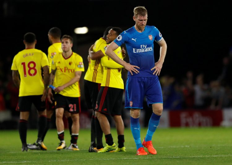 We've seen this too many times since Mertesacker has been at Arsenal