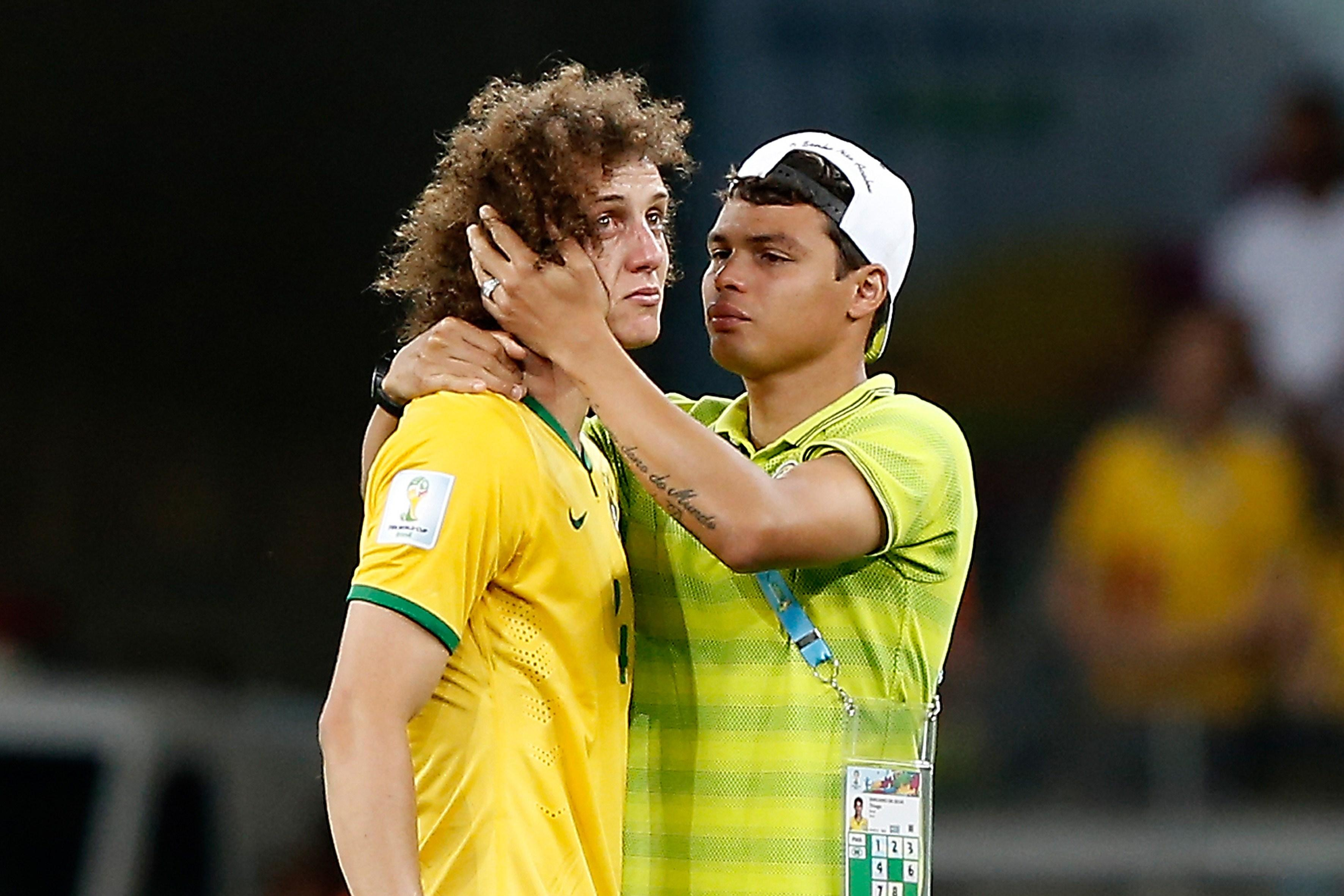 What the f**k was Thiago Silva wearing as well?
