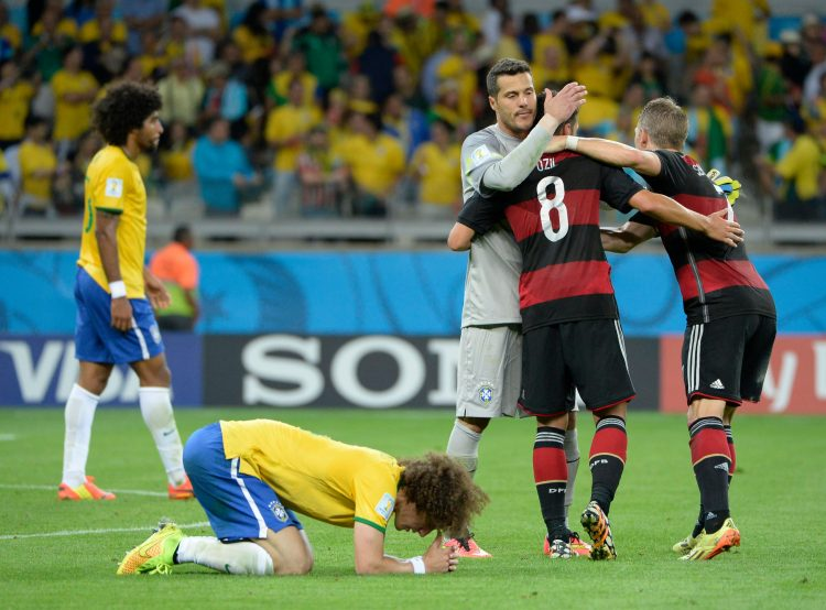 Luiz's last game at a World Cup
