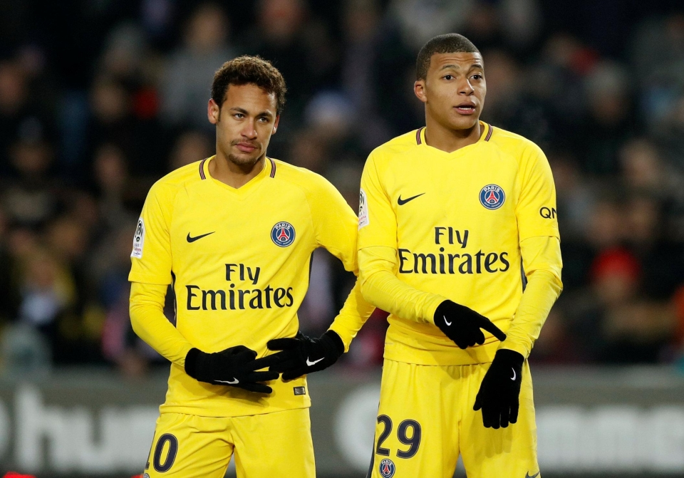 We would laugh our heads off if they both went to Real Madrid and Mbappe was universally considered to be the better player