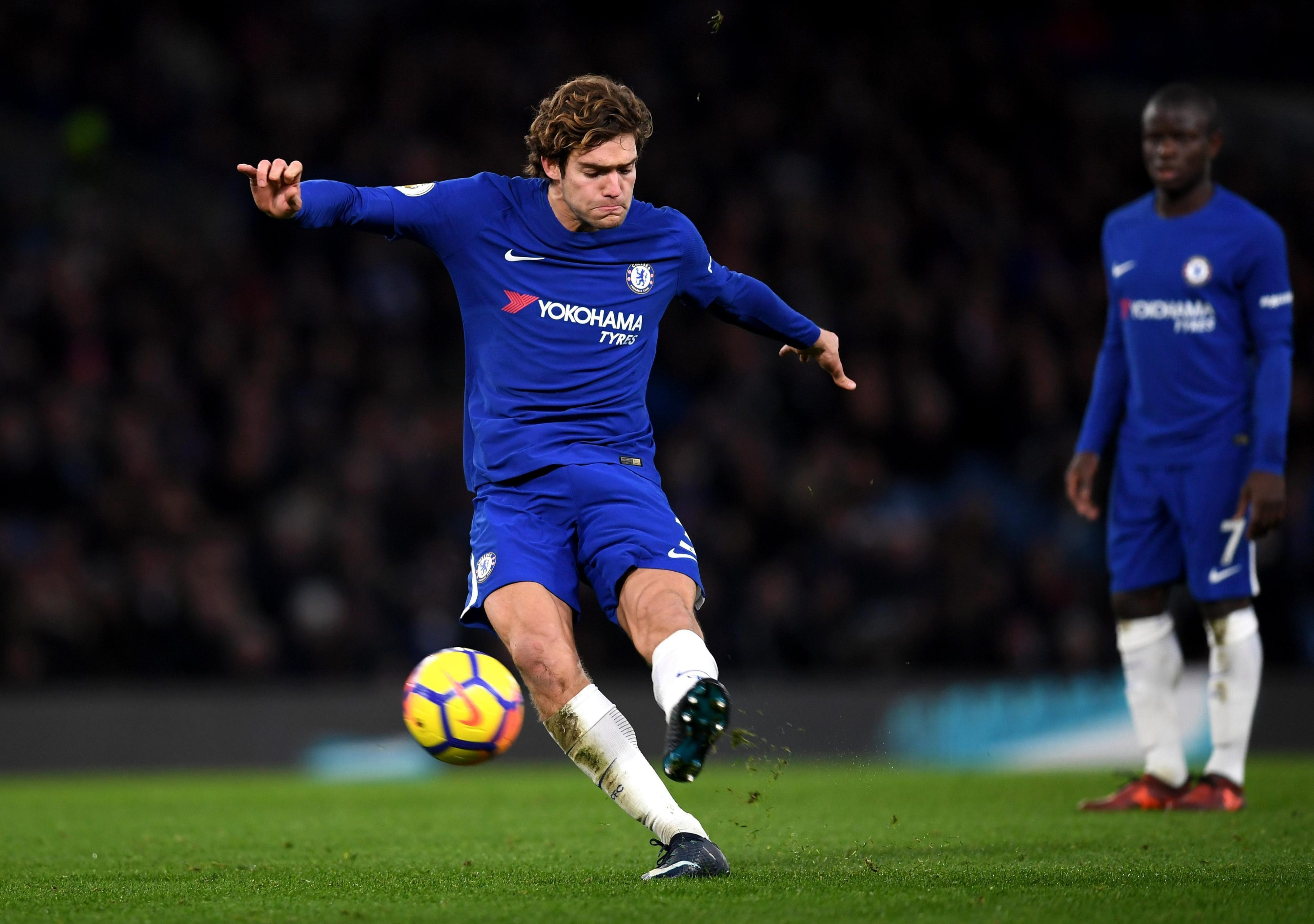 Okay, so Marcos Alonso is hardly 'your average left-back'