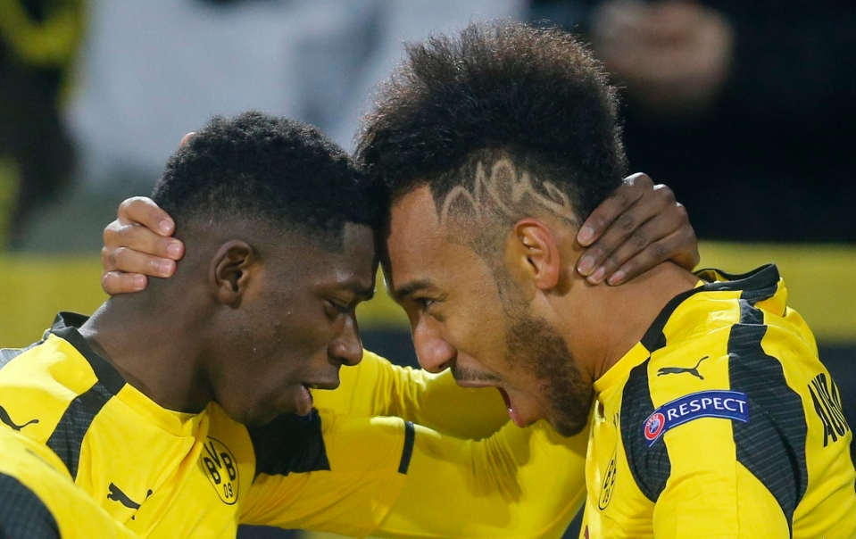 Dembele was teammates with the striker at Dortmund