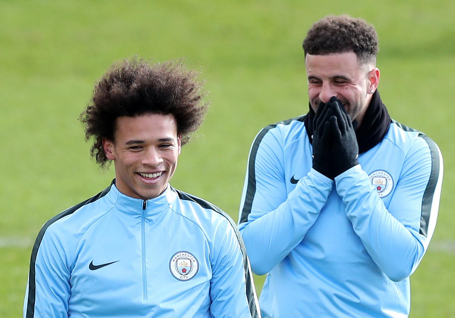 Sane showed his team-mate some love as well