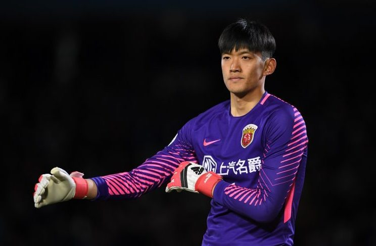 The Chinese Gigi Buffon is what nobody is calling him