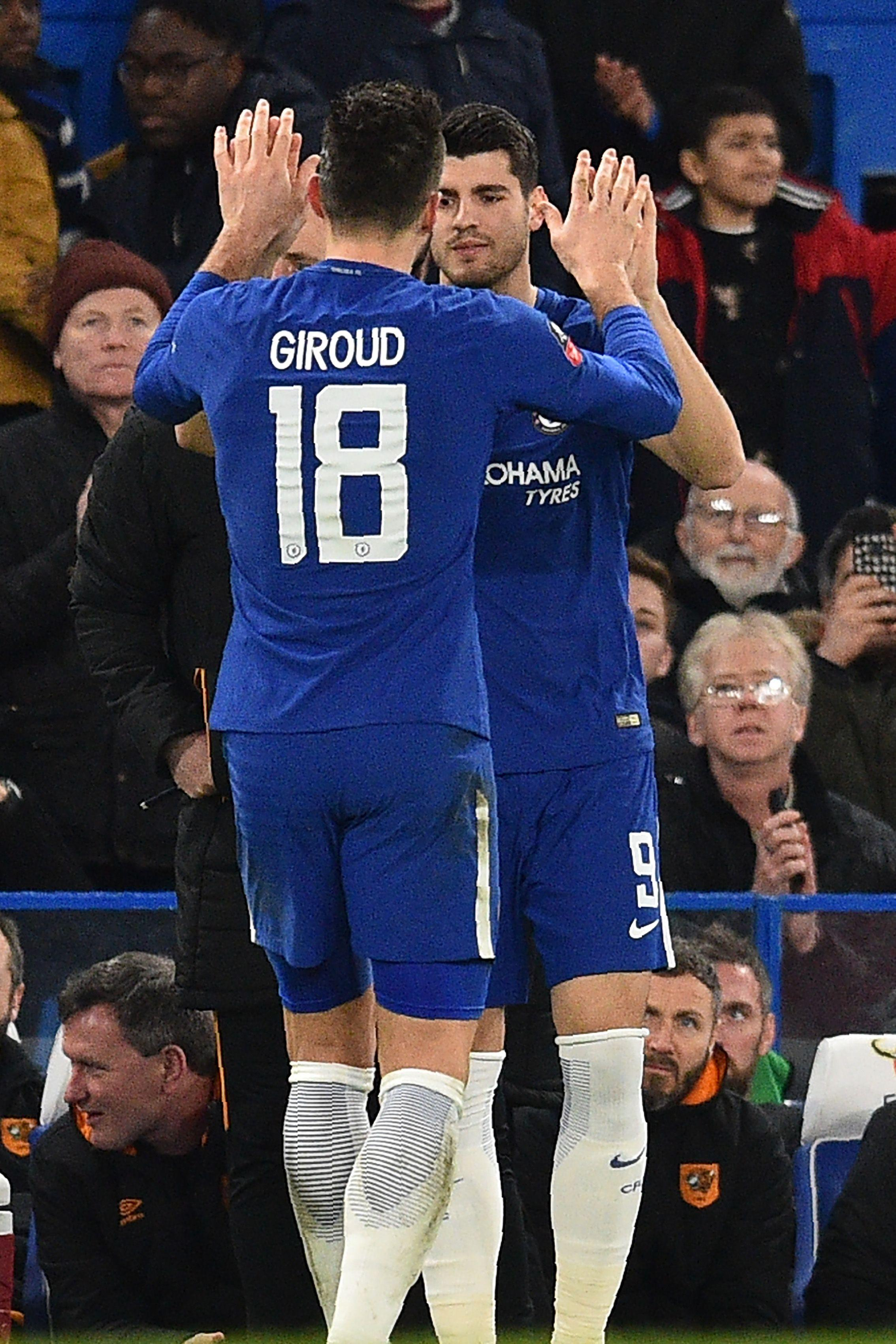 Surely one of these two laying it off for Hazard is the way to go?