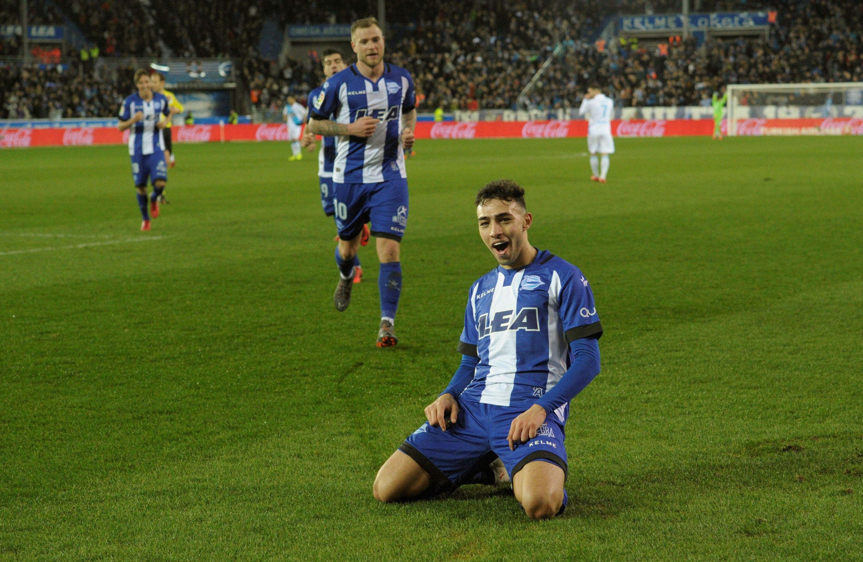 He's been a regular for Alaves this season