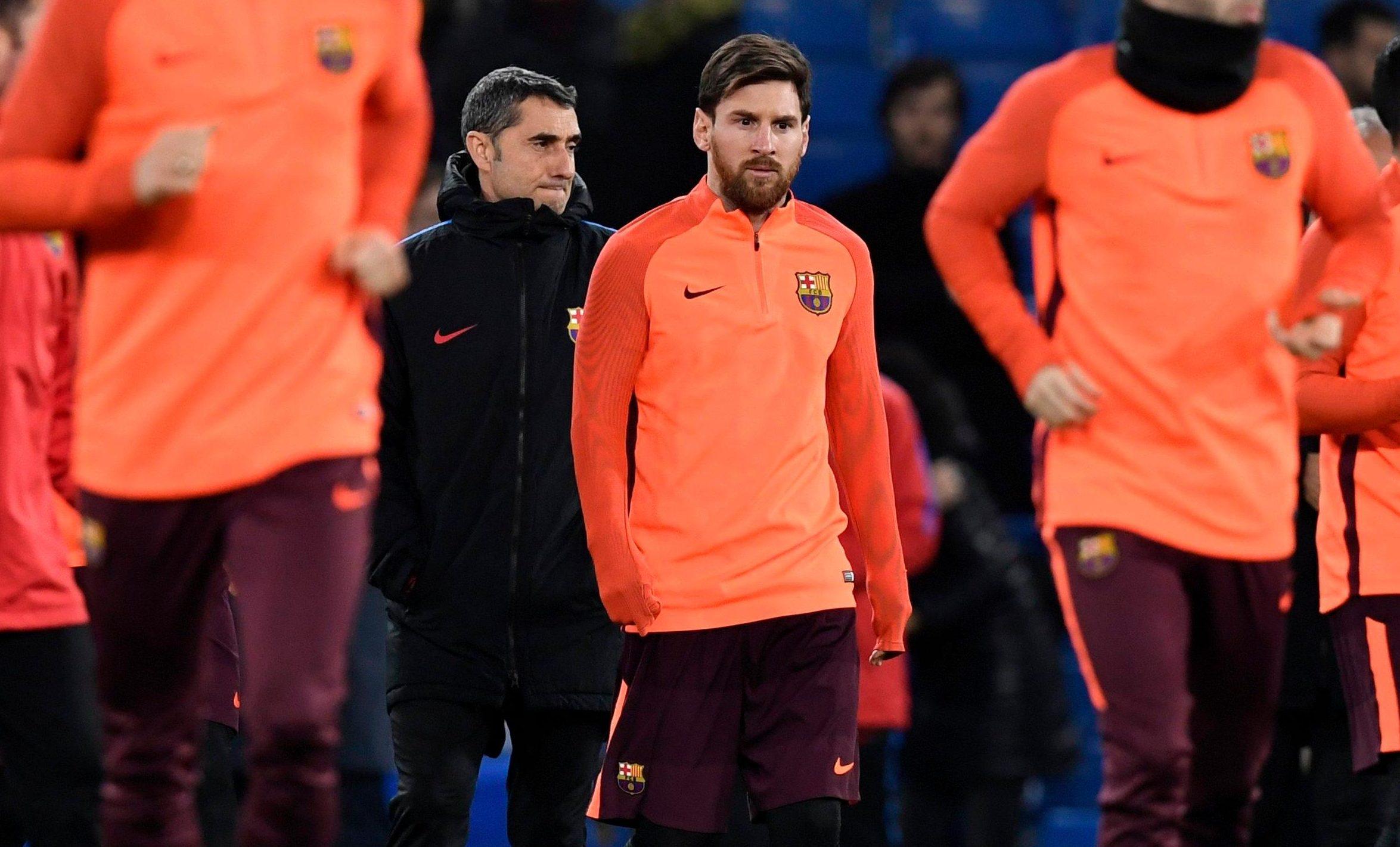 Valverde has drawn Messi further back this season
