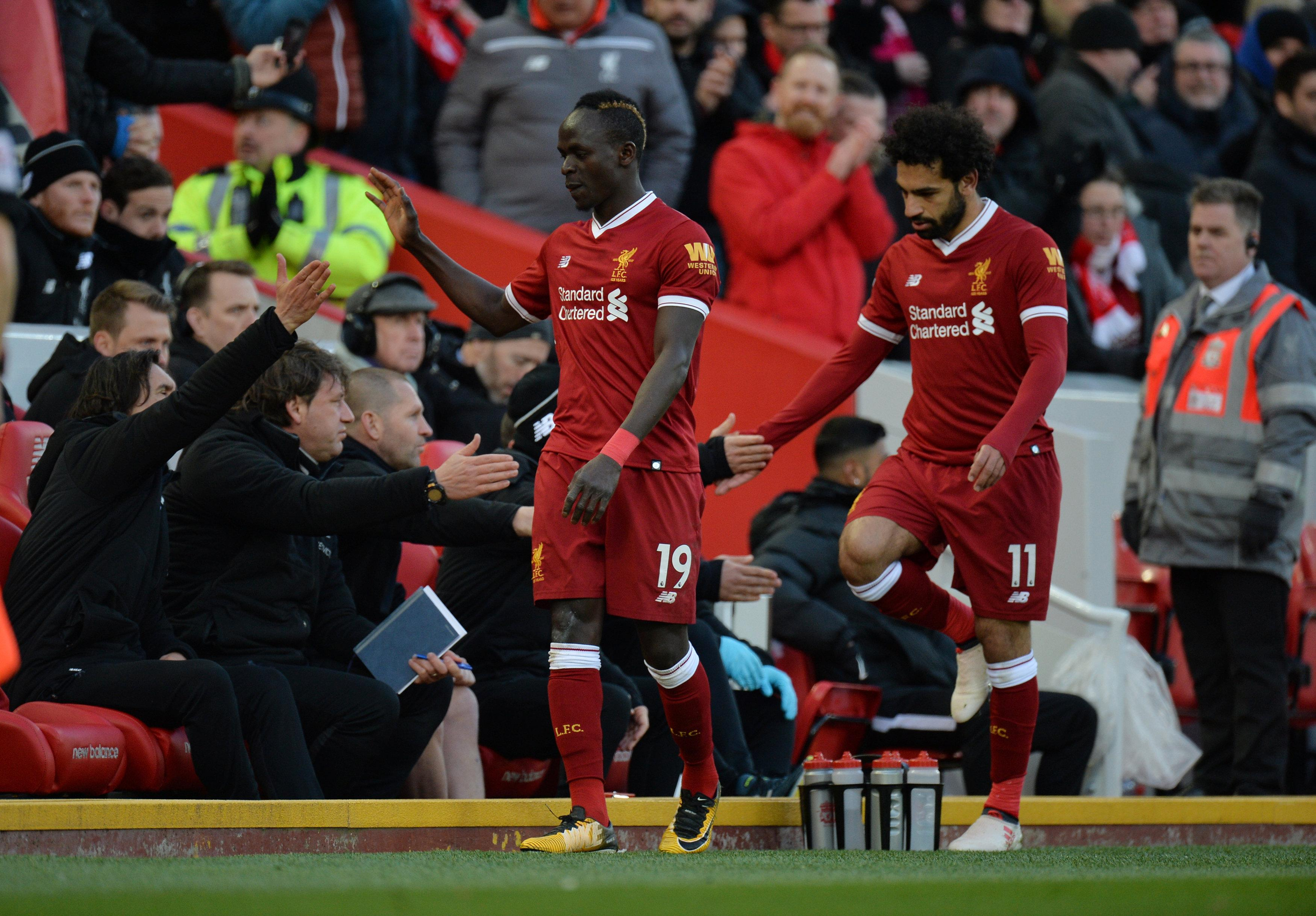 The Mane and Salah double act returned eight points each