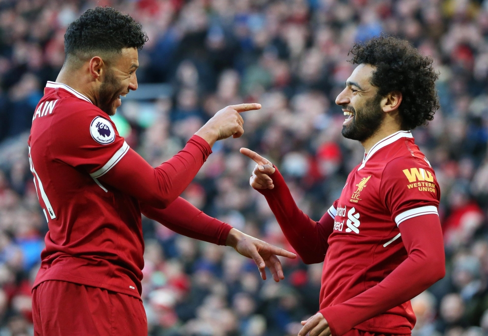 Ox and Salah are turning into a dynamic duo