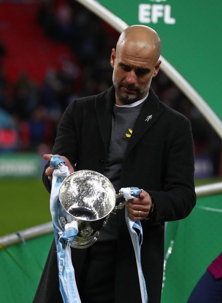 """""""All you have to do is beat Arsenal to win one of these things?"""""""