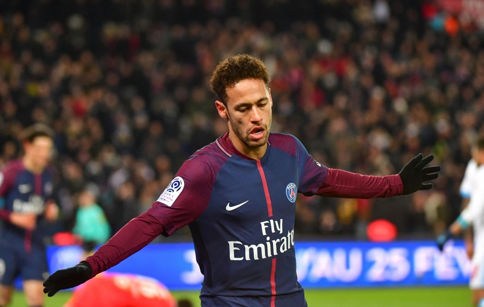 Neymar is set to cost twice as much as Griezmann