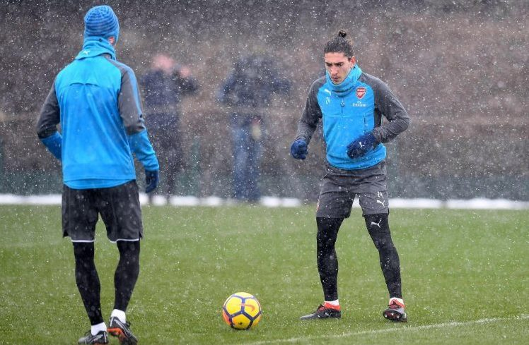 Bellerin happily thinking about facing Leroy Sane again