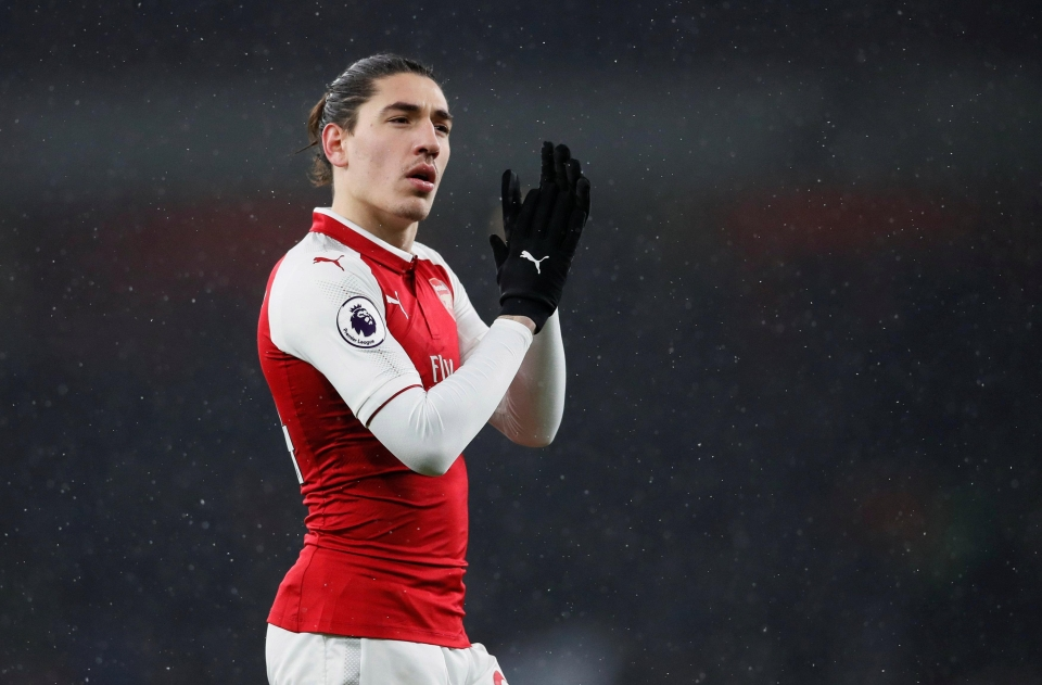 Bellerin has stalled in recent years
