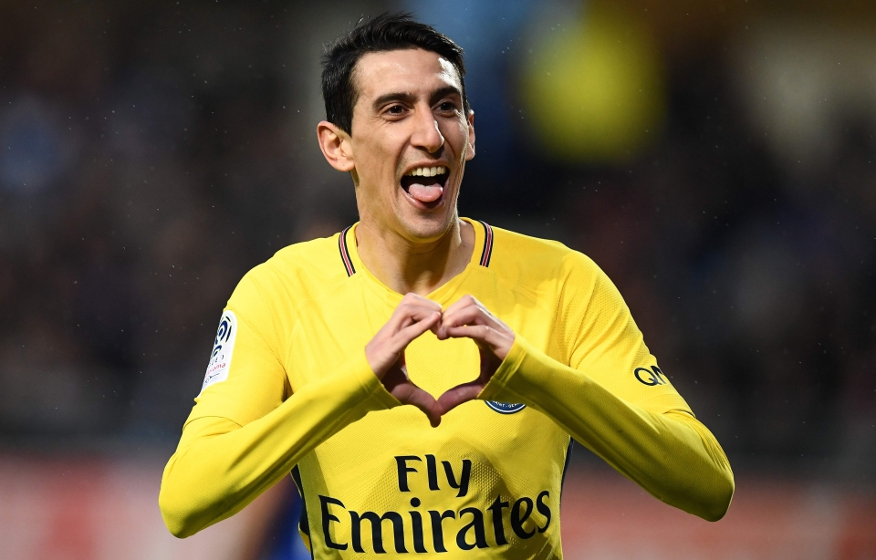 Di Maria will surely come in to replace Neymar