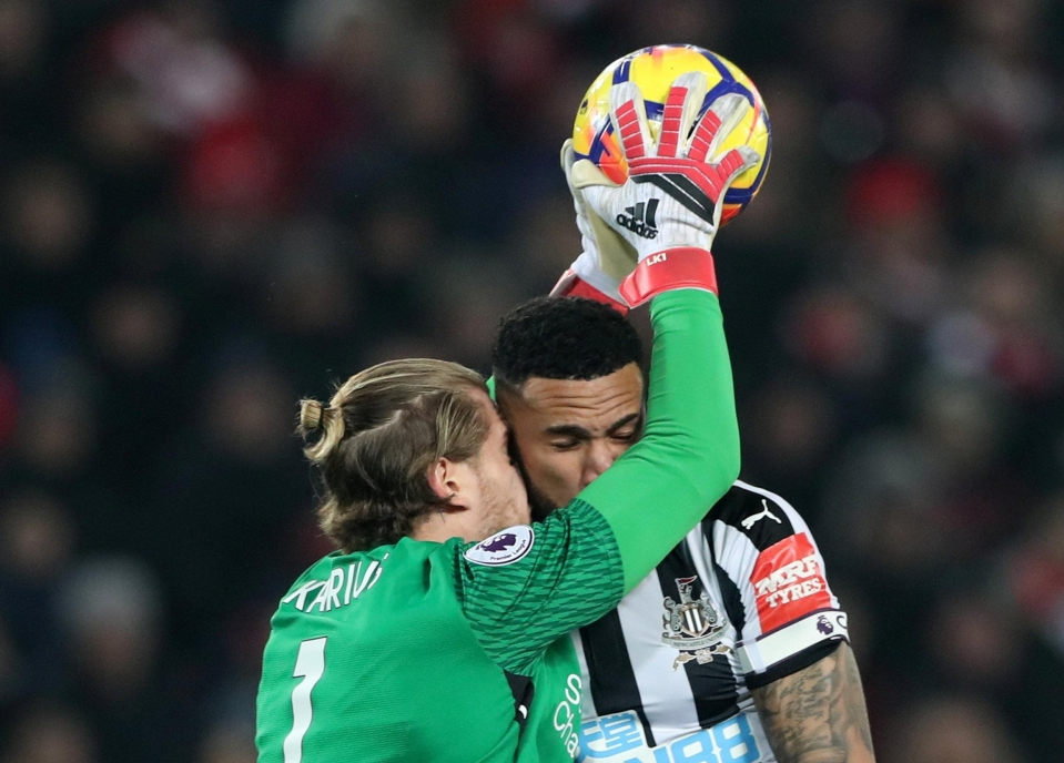 Karius is far more commanding than he used to be