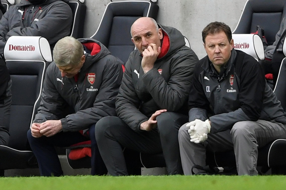 Arsenal are 15 points adrift of Liverpool