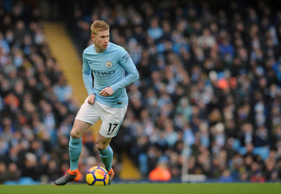 We've enjoyed some genius moments from KDB this season