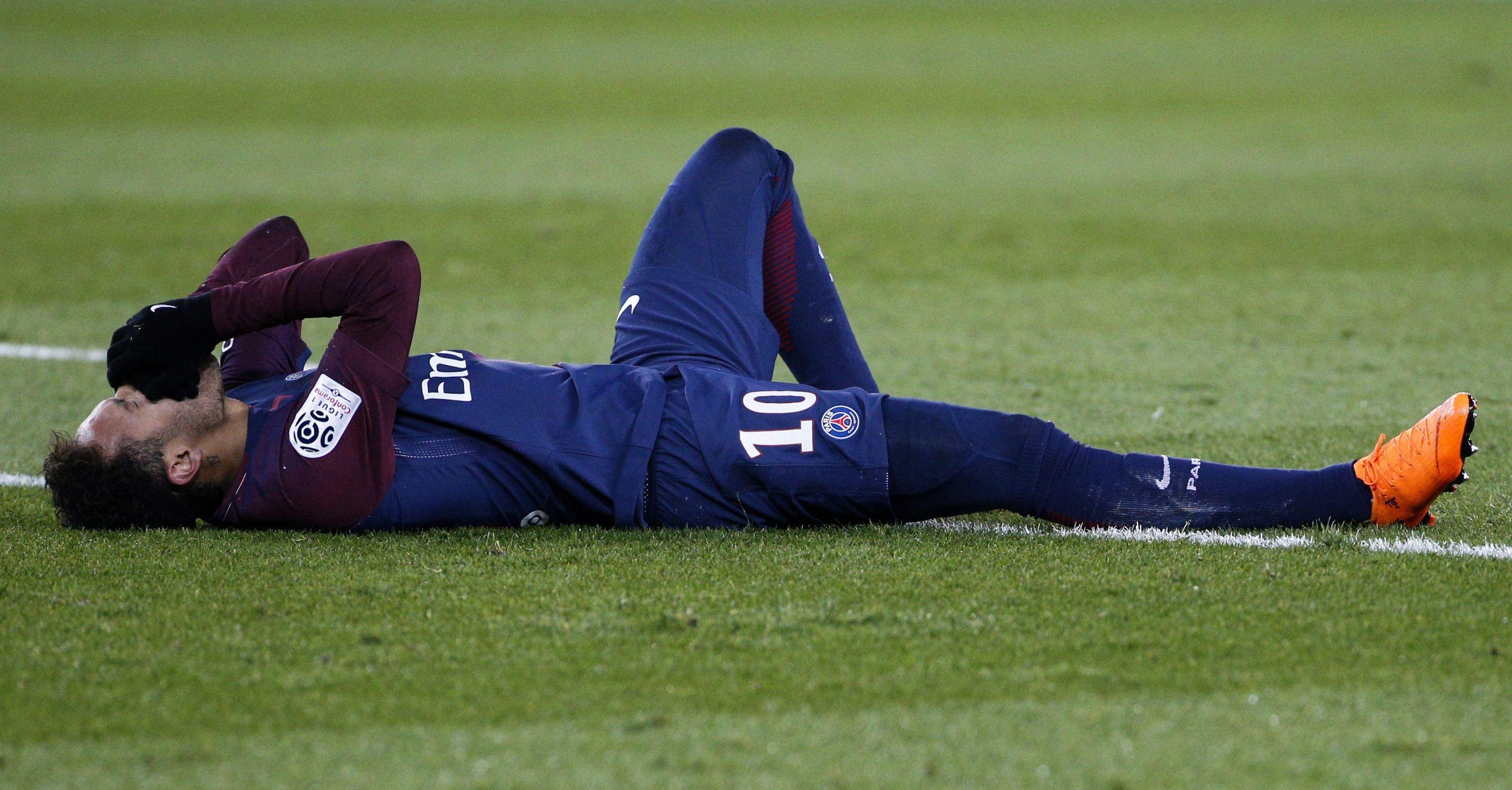 Neymar's injury has overshadowed the upcoming second-leg