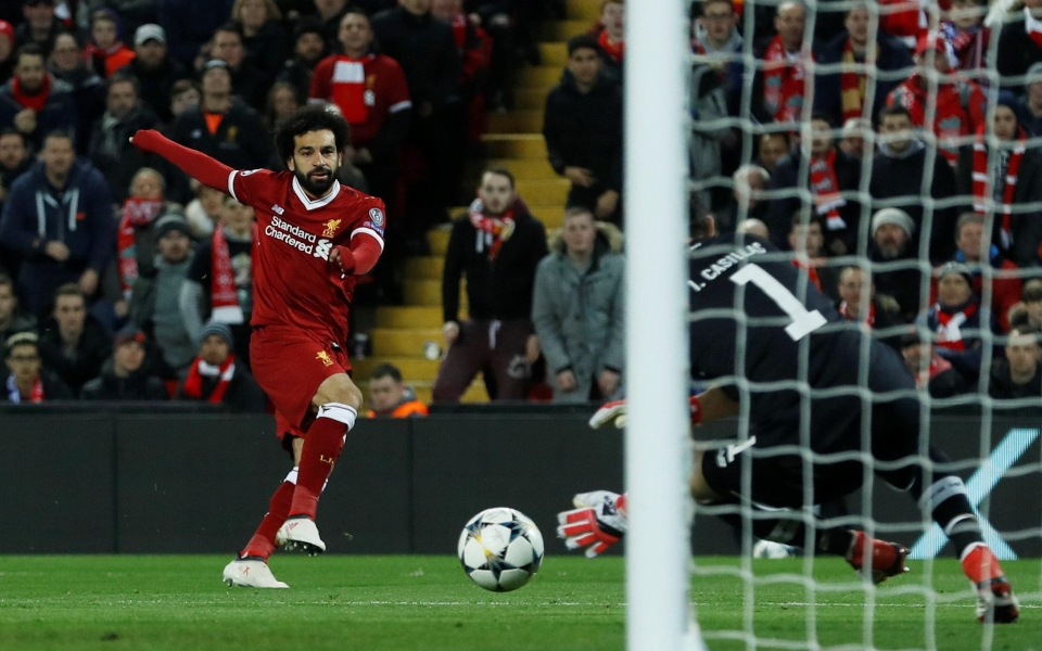 He even kept Salah out