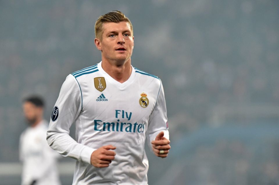 Kroos has been magnificent for Real Madrid