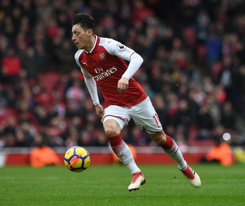 Mesut Ozil Has Broken A Premier League Assist Record By Kevin De