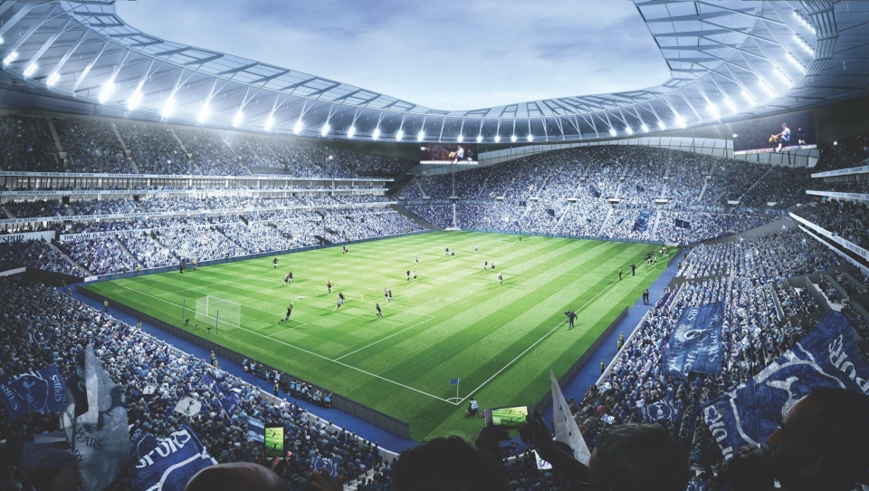 Spurs fans are being treated to a new stadium but it will put a dent in their wallet