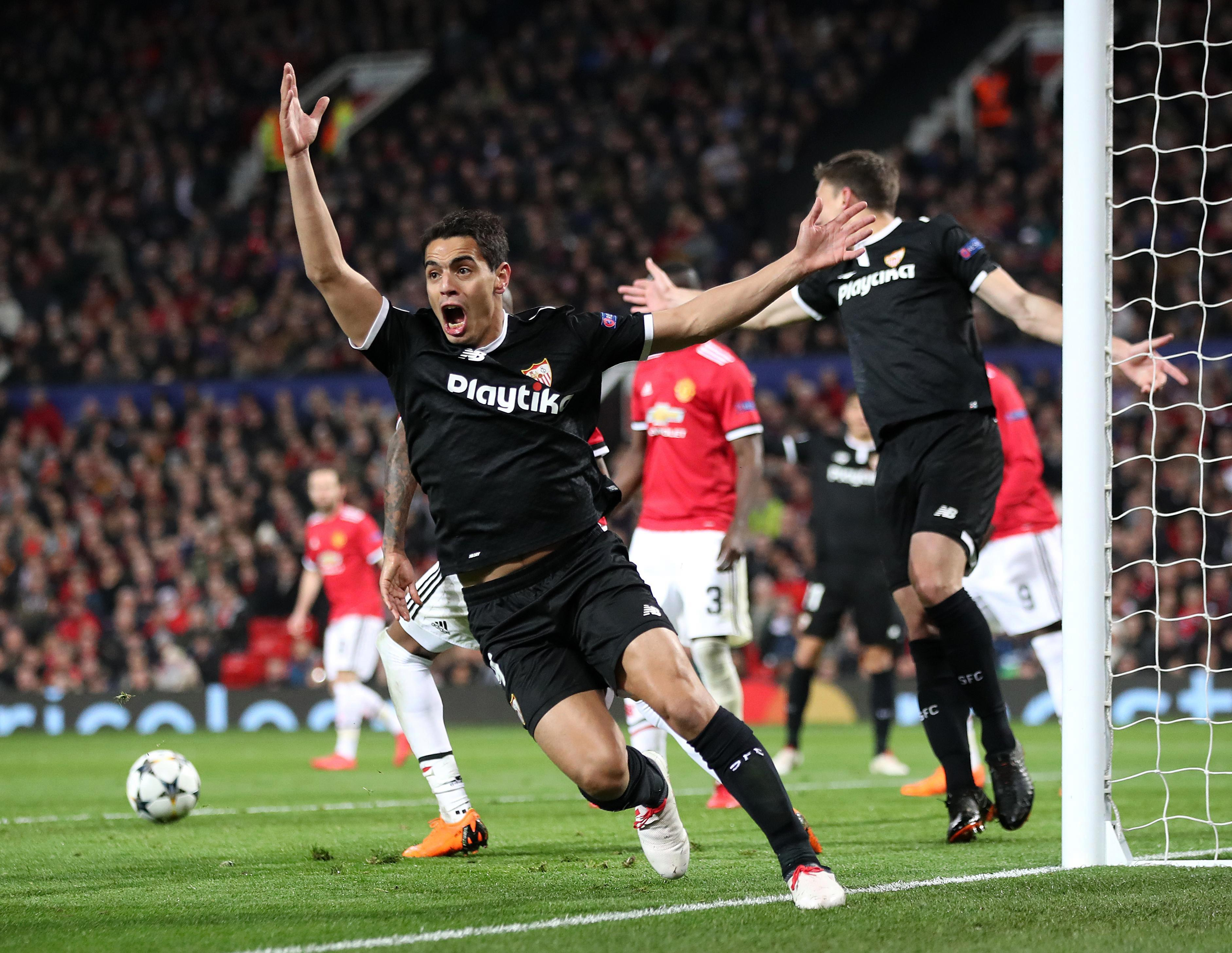 Ben Yedder came off the bench to shock Man United and secure victory for Sevilla