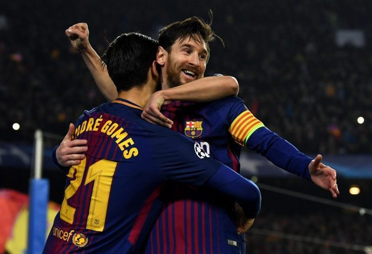 Just stay close to Lionel Messi and everything will be alright