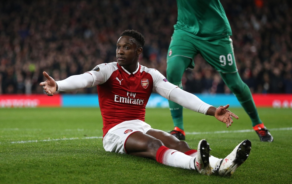 Cut to Welbz diving in the Europa League