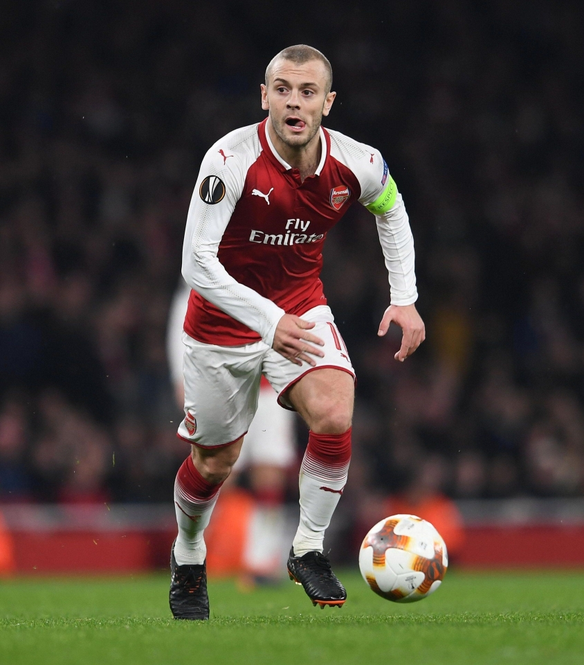 Wilshere is now firmly back in the frame at Arsenal and has captained the side