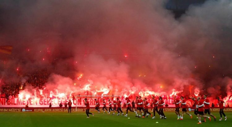 'I'm the one next to the guy with the flare'