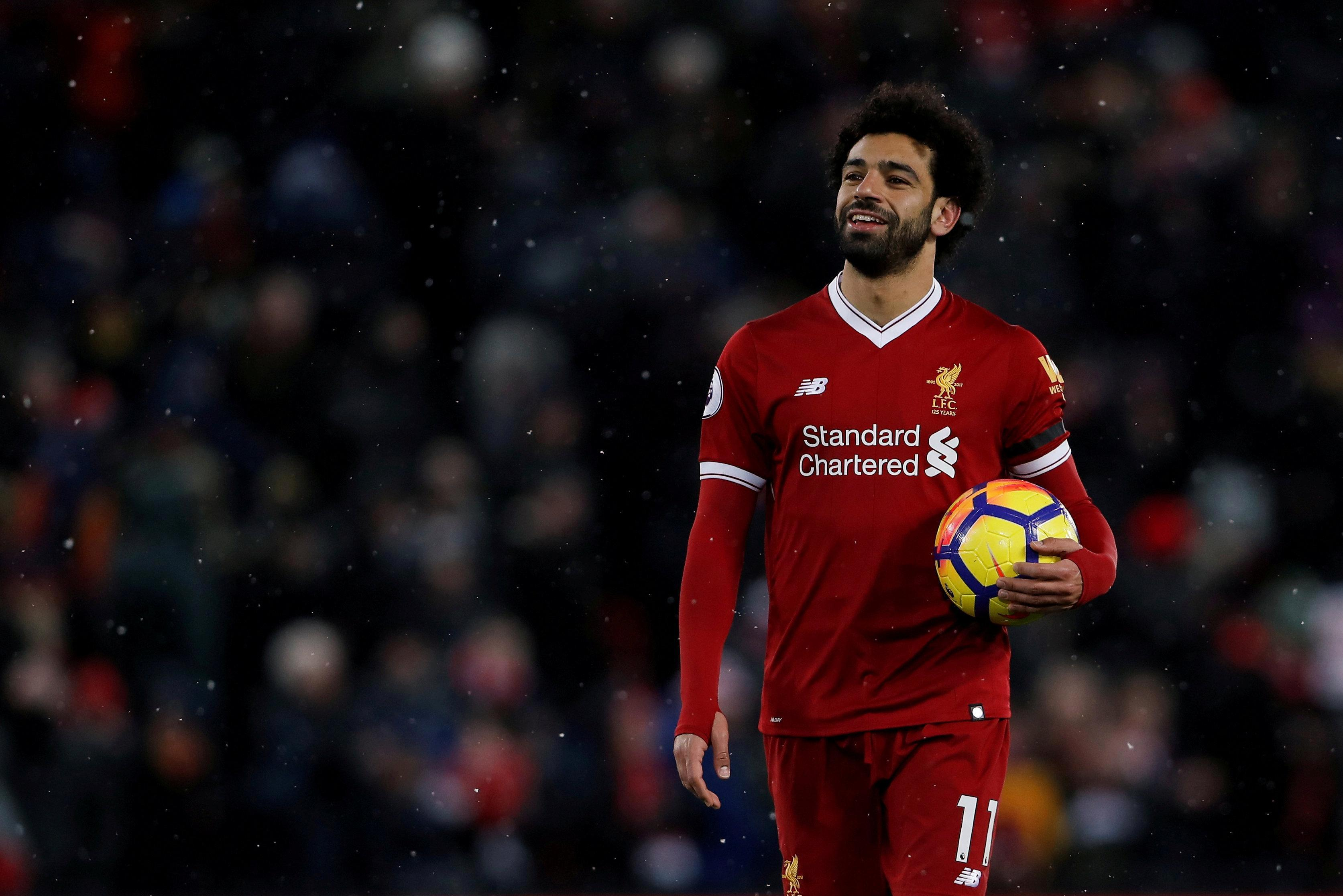 Mo Salah scored four and set up one to thump Watford