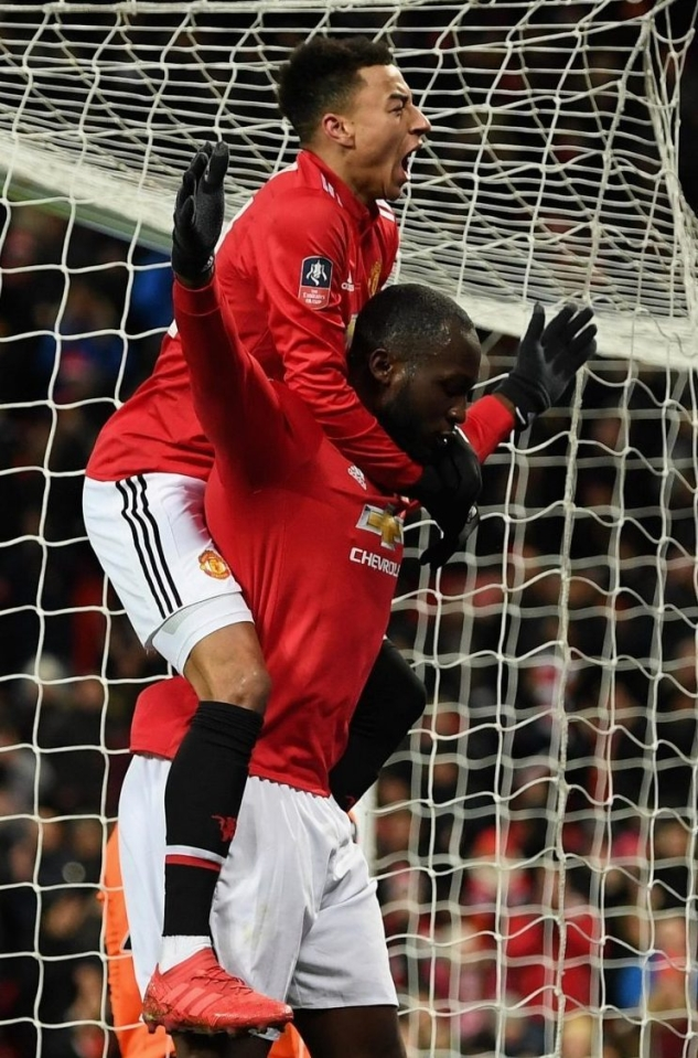 Ironically Lingard has been carrying Lukaku for most of the season
