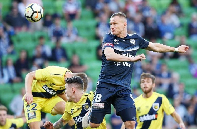 The header of a man who once scored the fastest hat-trick in A-League history
