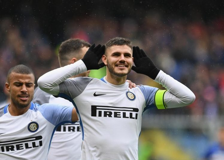 Icardi listening out for more comments from Diego Maradona