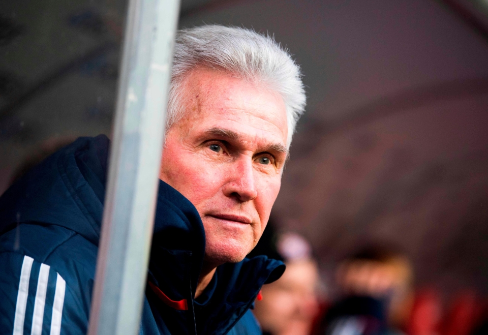 Jupp Heynckes is leaving Bayern this summer and has backed Thomas Tuchel to replace him