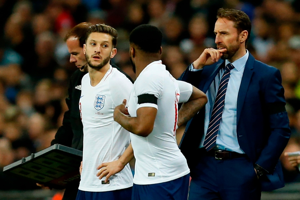 It was good to see Lallana come on for England last week