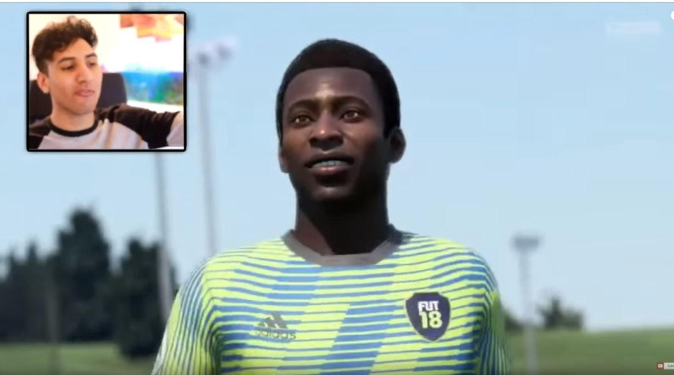 Pele nets past the eight-year-old keeper