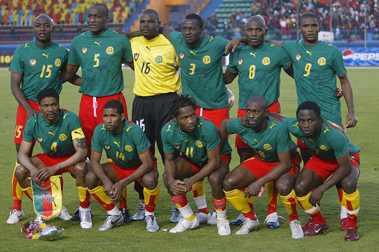 55c8336a0 Cameroon once stuck a middle finger up to FIFA by wearing back-to ...